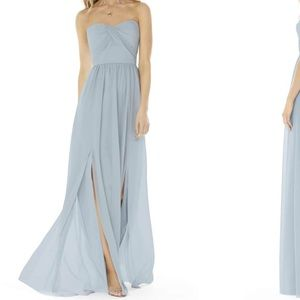 Georgette gown in Mist